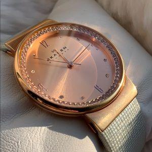 Skagen Denmark women's watch pre owned